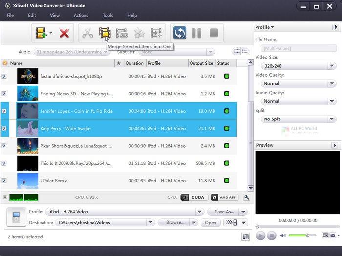 Xilisoft Video Converter Platinum 2020