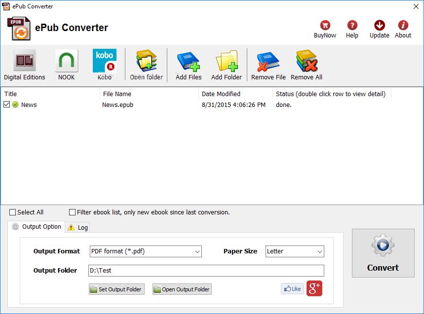 ePub Converter 3.20