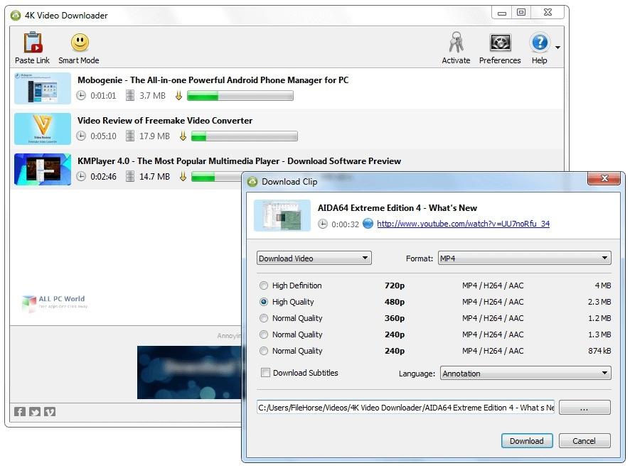 4k Video Downloader 4.14