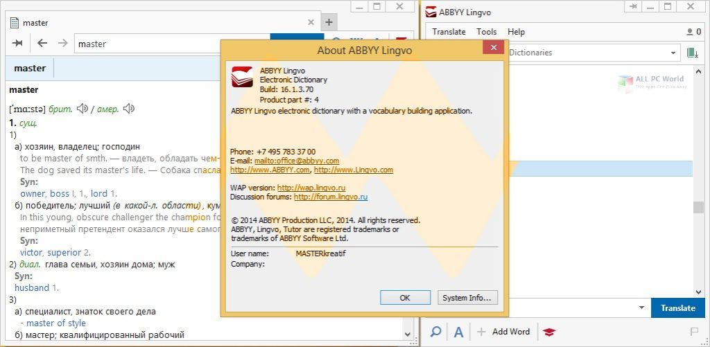 ABBYY Lingvo X6 Professional v16.2 Free Download