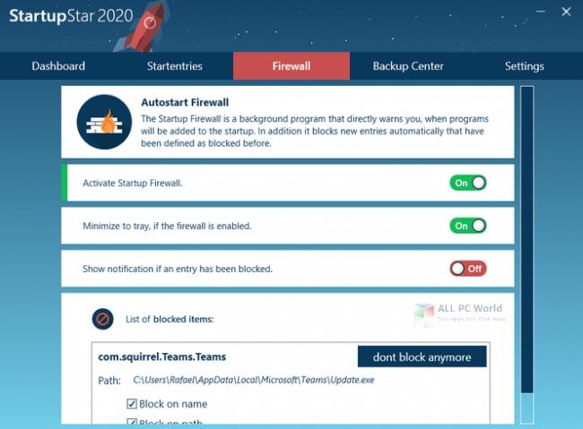 Abelssoft StartupStar 2020 v12.08 One-Click Download