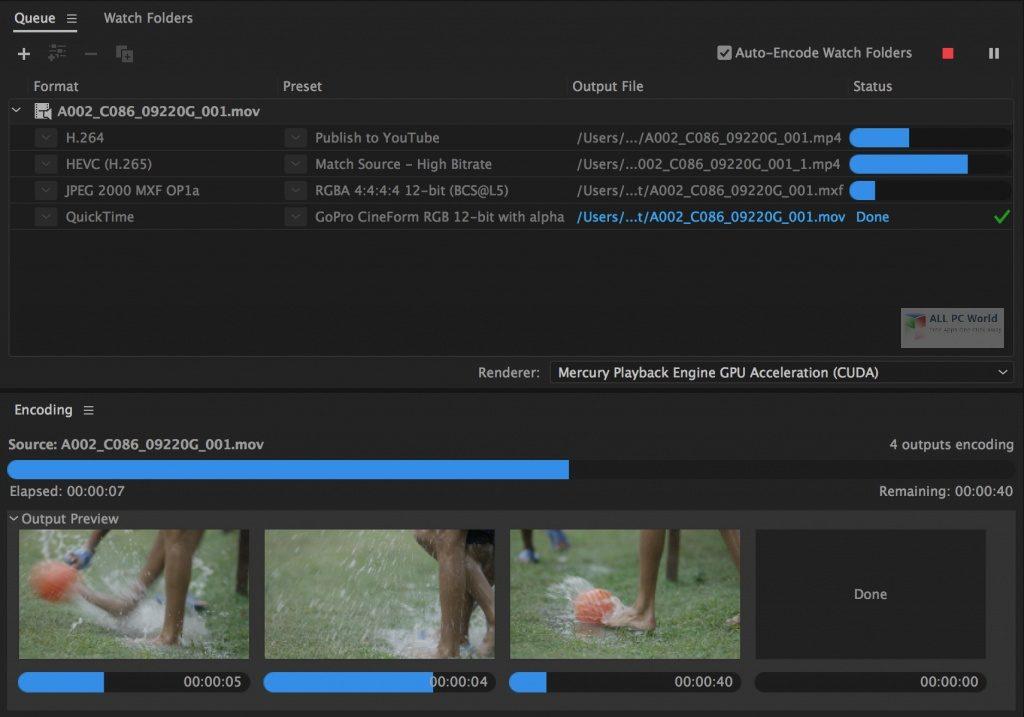Adobe Media Encoder 2020 v14.3.2 Download