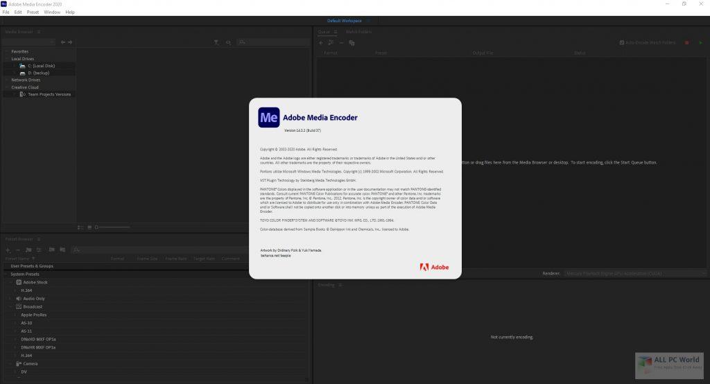 Adobe Media Encoder 2020 v14.3.2 One-Click Download