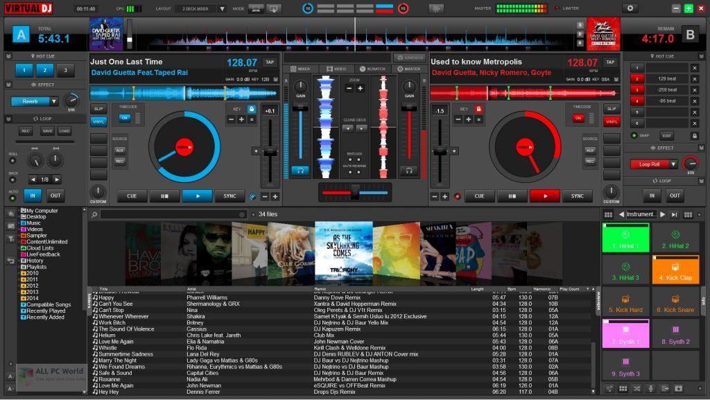 Atomix VirtualDJ Pro 2021 Infinity 8.5 Free Download