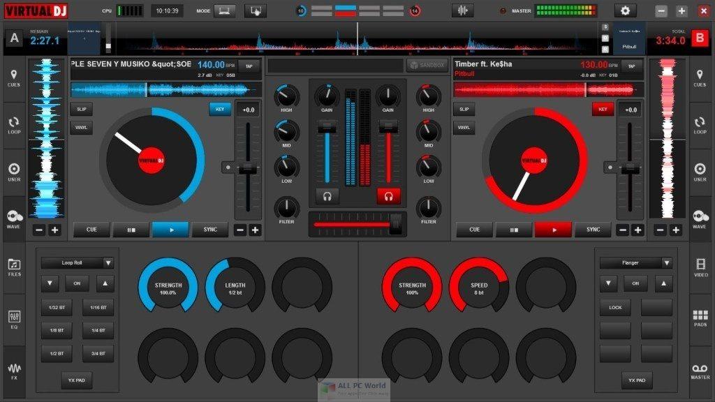 Atomix VirtualDJ Pro 2021 Infinity 8.5 One-Click Download
