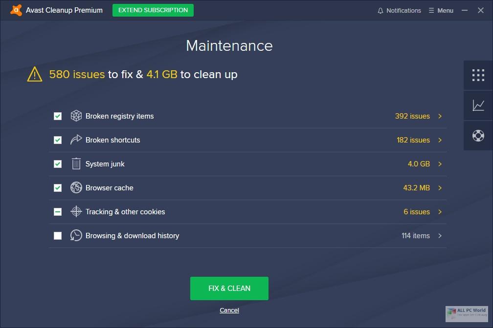 Avast! Cleanup Premium 2020