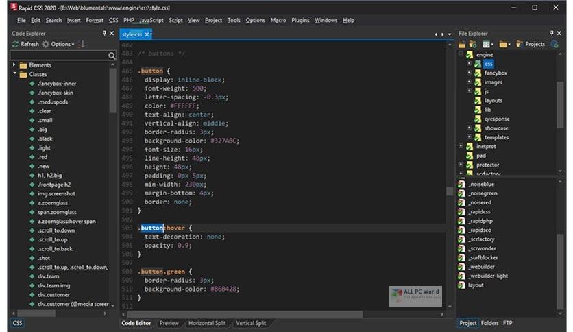 Blumentals Rapid CSS 2020 v16.2 One-Click Download
