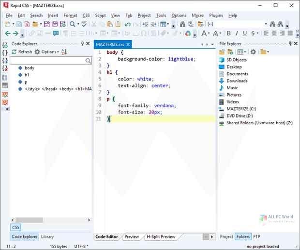 Blumentals Rapid CSS 2020 v16.2