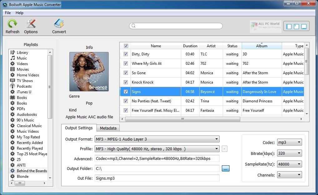 Boilsoft Apple Music Converter 2020 v6.8