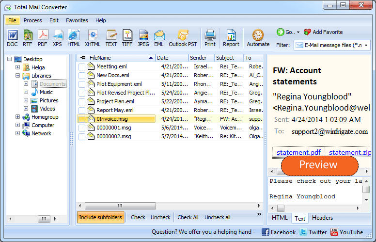 CoolUtils Total Mail Converter 2020 v6.2 Download