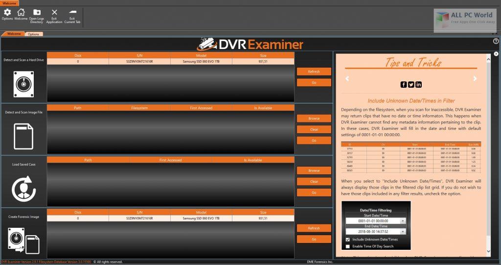 DVR Examiner 2.9 One-Click Download