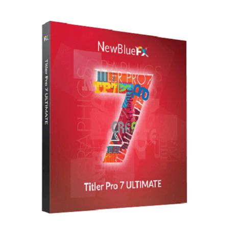 Download NewBlueFX Titler Pro 7 Ultimate 7.2