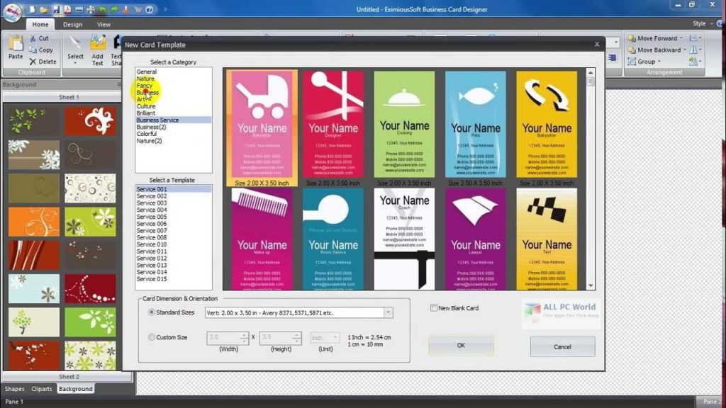 EximiousSoft Business Card Designer Pro 3.31 Free Download