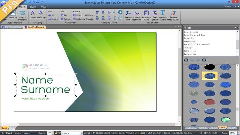 EximiousSoft Business Card Designer Pro 2020 v3.31 Full Version