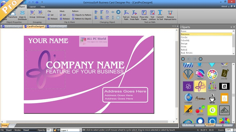 EximiousSoft Business Card Designer Pro 3.31 One-Click Download