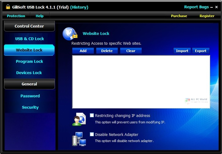 GiliSoft USB Lock 2021 One-Click Download