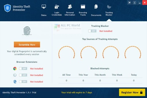Identity Theft Preventer 2.2.6 Direct Download Link