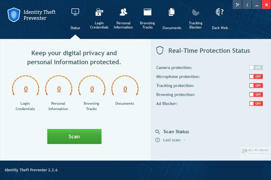 Identity Theft Preventer 2.2.6 Full Version Download