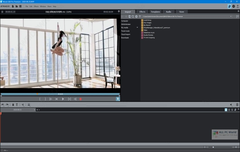 MAGIX Movie Edit Pro 2021 Premium 20.0 Download
