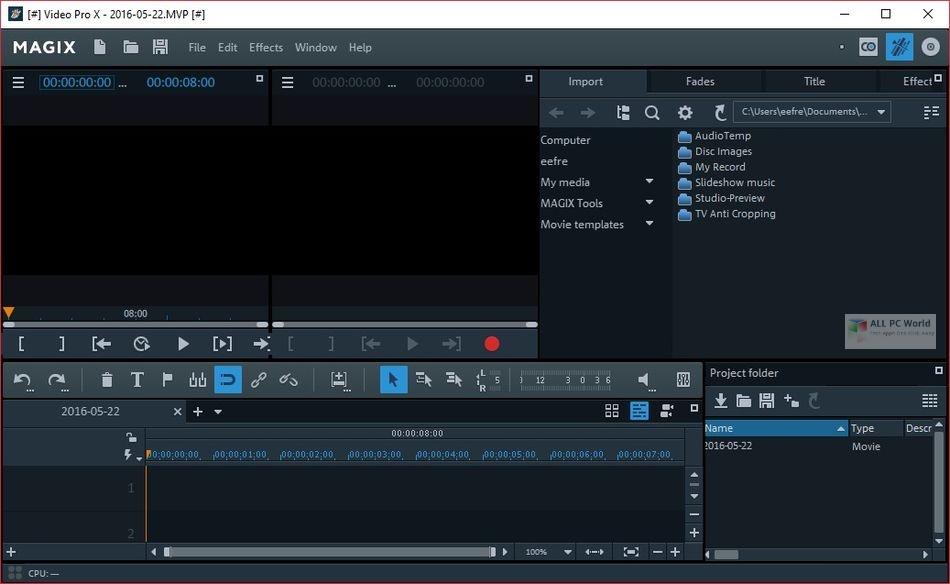MAGIX Movie Edit Pro 2021 Premium 20.0 One-Click Download