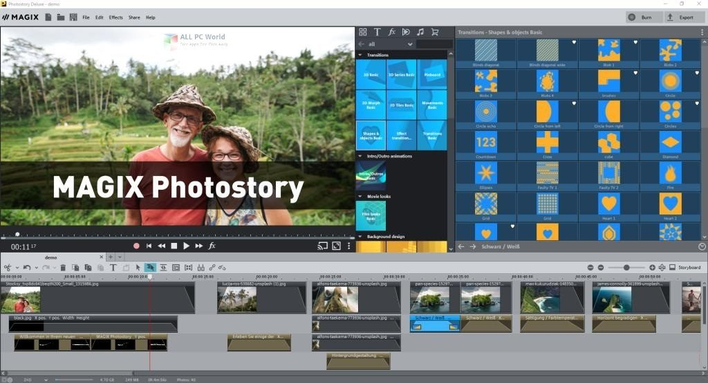 MAGIX Photostory 2021 DELUXE 20.0