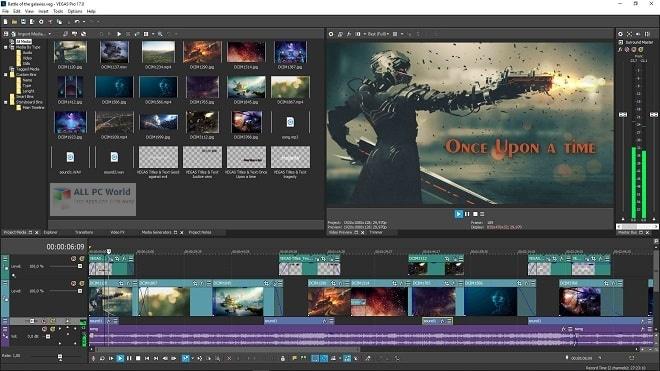 MAGIX VEGAS Pro 18.0 Free Download