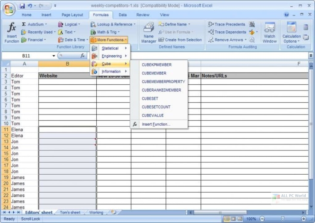 Microsoft Office Professional 2007 Free Download