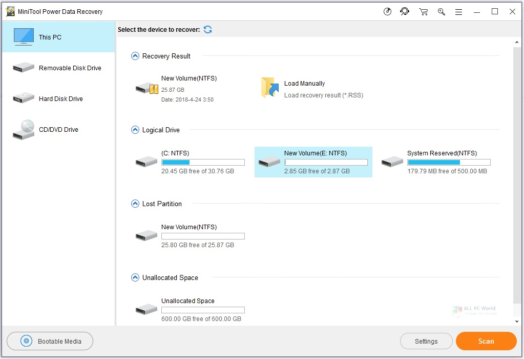 MiniTool Power Data Recovery Business Technician 9.2 Free Download