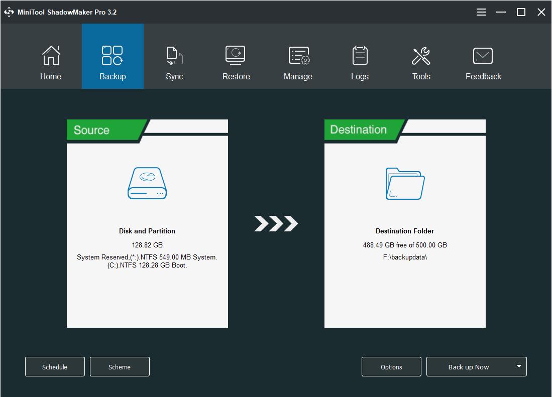 MiniTool Shadow Maker Pro Free Download