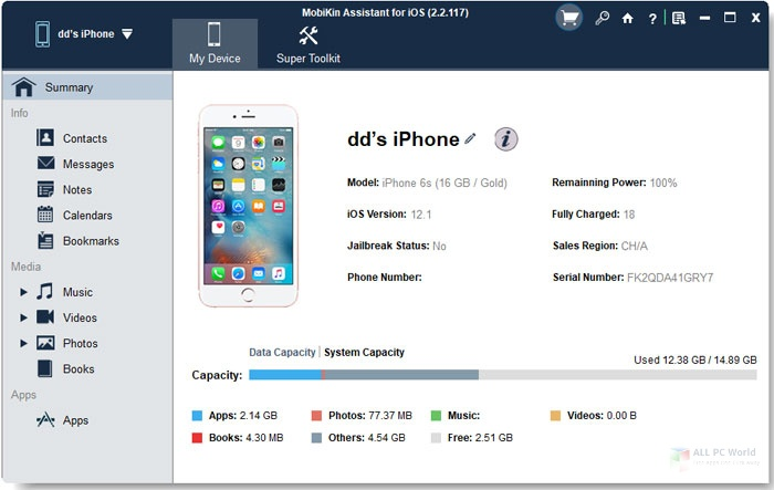 MobiKin Assistant for iOS 2.7 Download