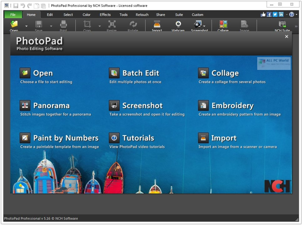 NCH PhotoPad Image Editor Pro 6.43 Download