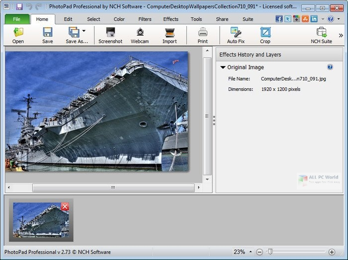 NCH PhotoPad Image Editor Pro 6.43 Free Download