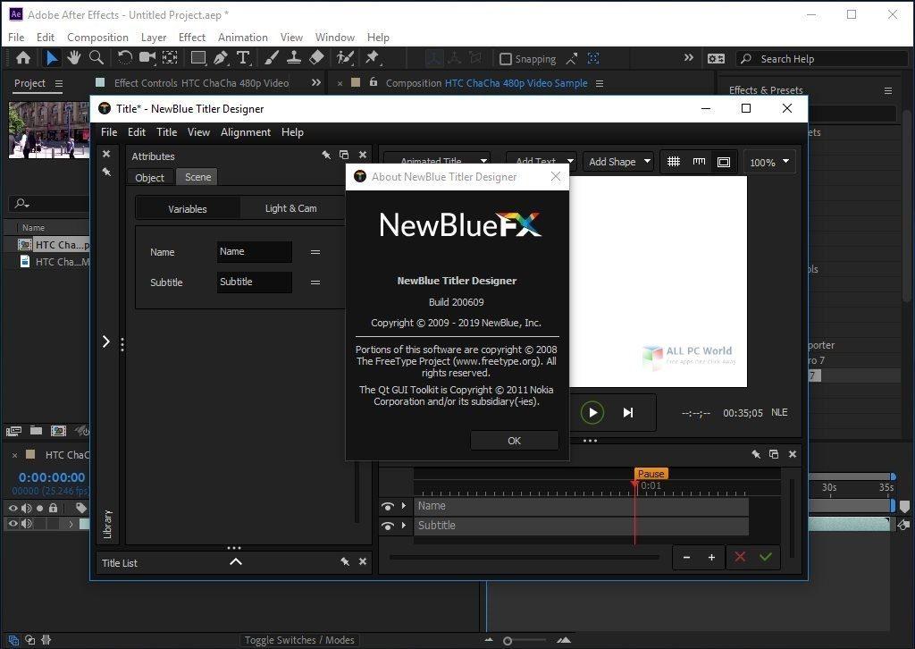 NewBlueFX Titler Pro 7 Ultimate 7.2 Direct Download Link