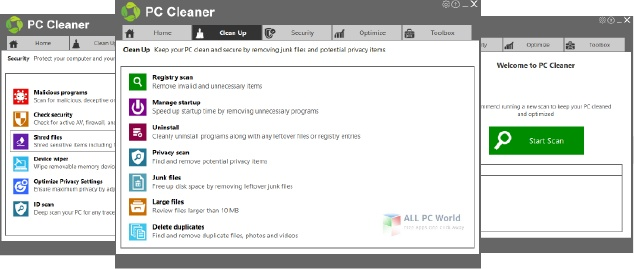 PCHelpSoft PC Cleaner Platinum 7.4 Free Download