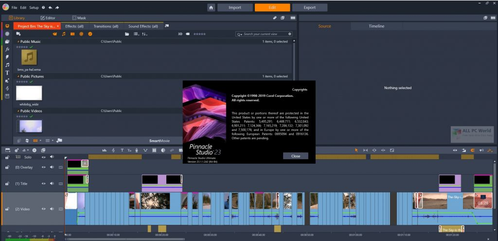Pinnacle Studio Ultimate 24.0 Download