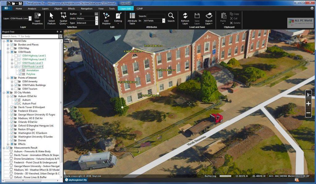 Skyline TerraExplorer Pro 7.2.1 Download