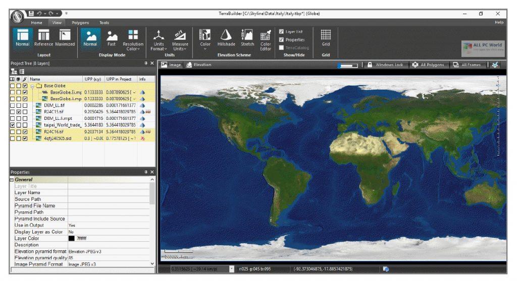 Skyline TerraExplorer Pro 7.2.1 Free Download