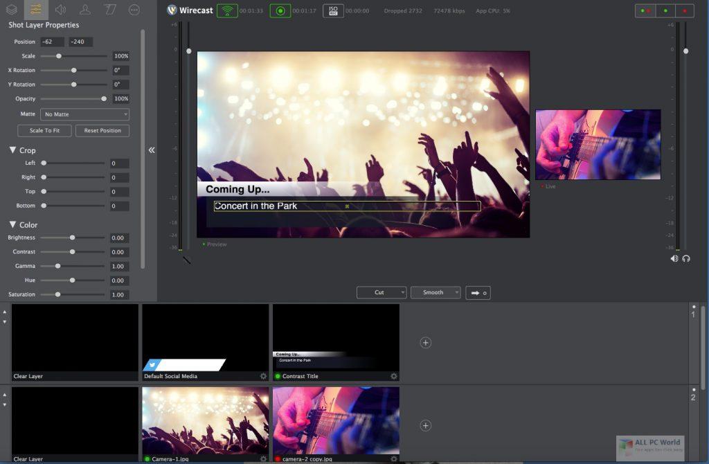 Telestream Wirecast Pro 2020 One-Click Download