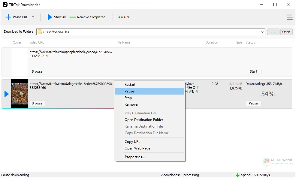 TikTok Downloader 3.2 Download