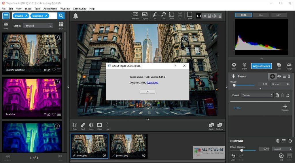 Topaz Sharpen AI 2.2.2 Direct Download Link