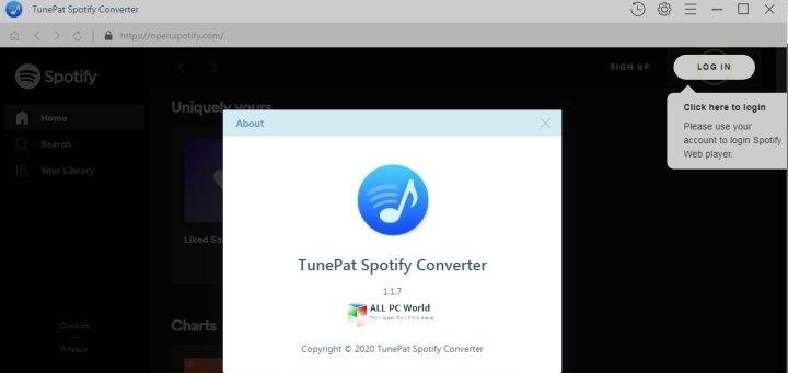 TunePat Spotify Converter 1.2 Direct Download Link