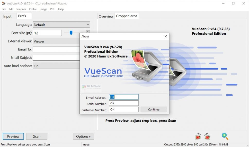 VueScan Pro 2020 Free Download
