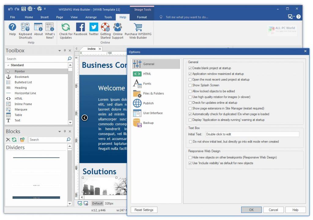 WYSIWYG Web Builder 15.4.5 One-Click Download