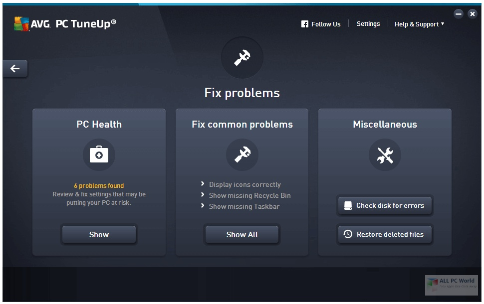 AVG PC TuneUp 20.1 Direct Download Link