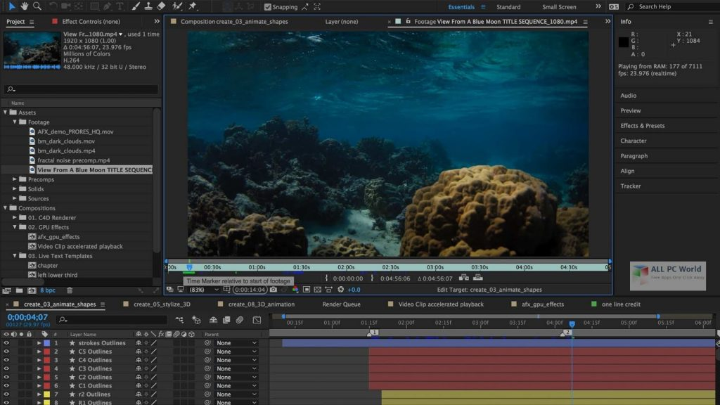 Adobe After Effects 2020 v17.1.4 One-Click Download