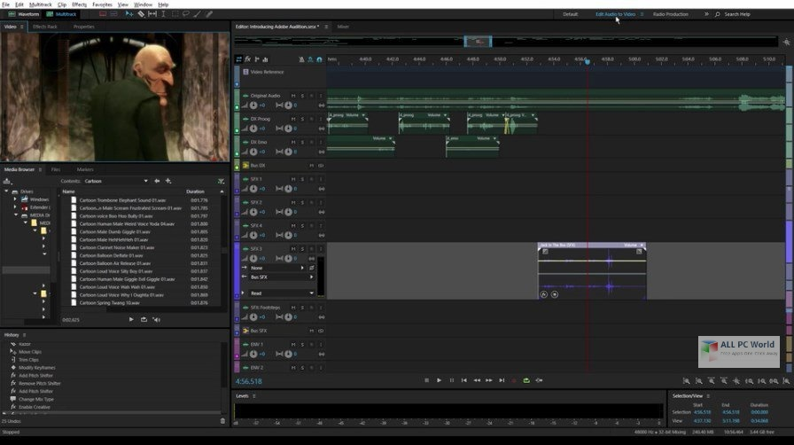 Adobe Audition CC 2020 v13.0.10 Free Download
