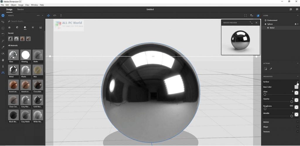 Adobe Dimension CC 2020 v3.3 Free Download