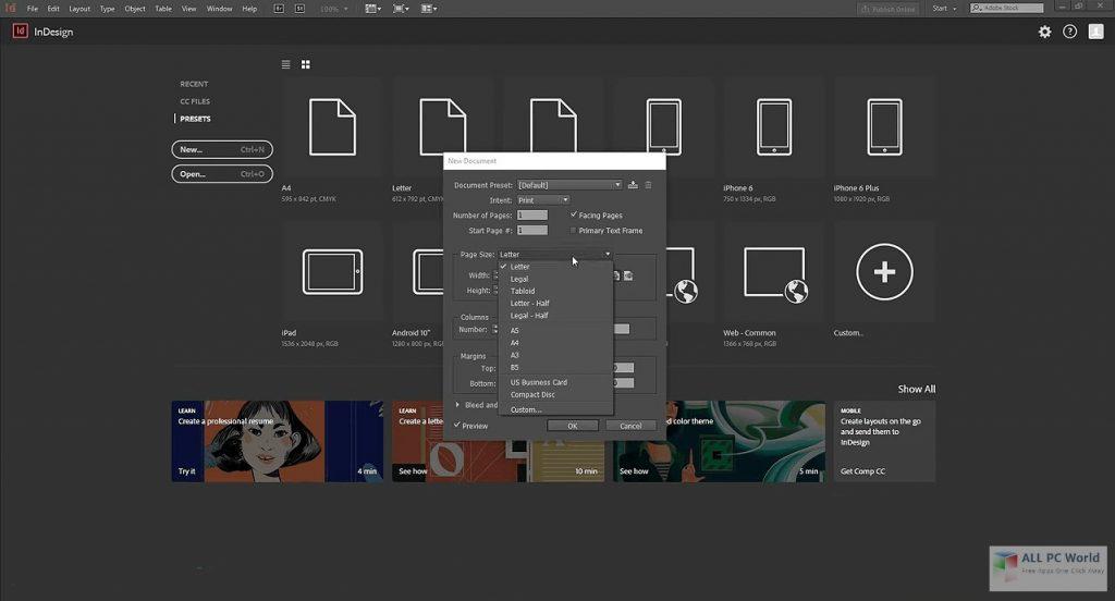 Adobe InDesign CC 2020 v15.1.2 Free Download