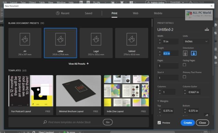 Adobe InDesign CC 2020 v15.1.2 One-Click Download