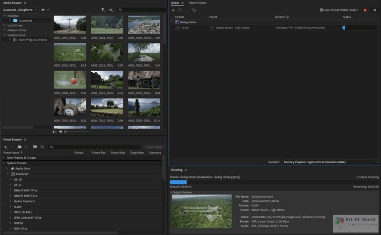 Adobe Media Encoder 2020 v14.4 Direct Download Link
